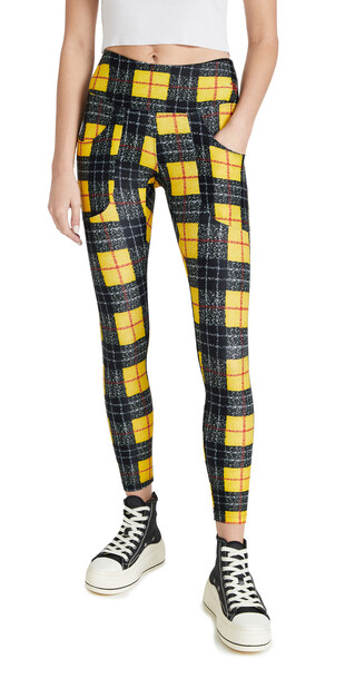 R13 x Twin Fantasy Patch Pocket Leggings in yellow