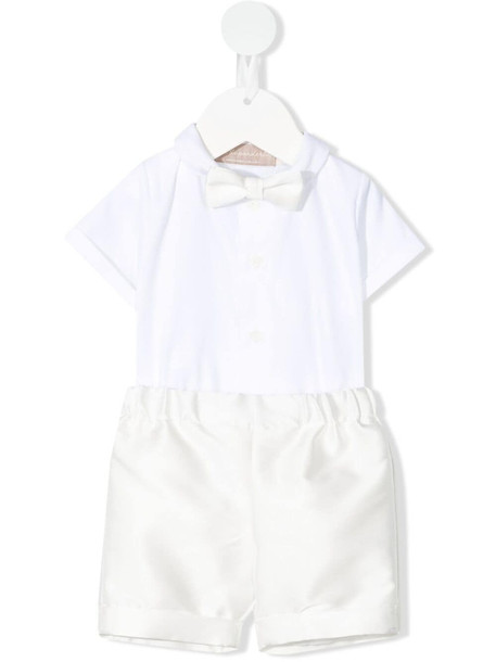 La Stupenderia all-in-one formal playsuit - White