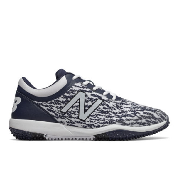 New Balance 4040v5 Turf Men's Cleats and Turf Shoes - Navy/White (T4040TN5)