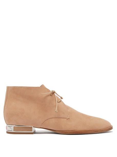 Gabriela Hearst - Shephard Suede Boots - Womens - Tan
