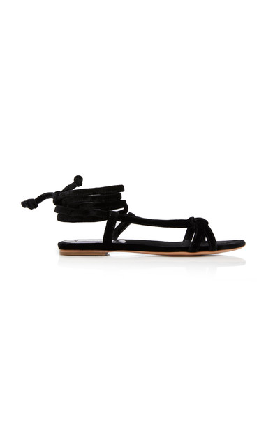Gabriela Hearst Reeves Strappy Sandals in black