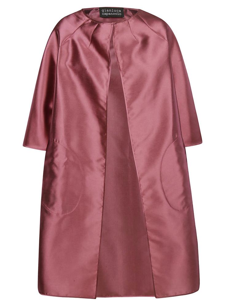 Gianluca Capannolo Monica Coat in pink