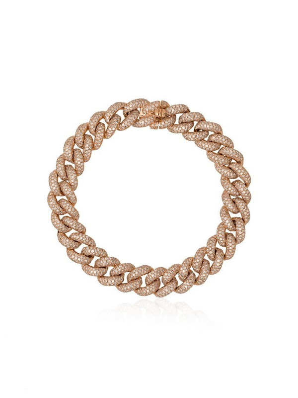 SHAY 18kt gold and diamond link bracelet