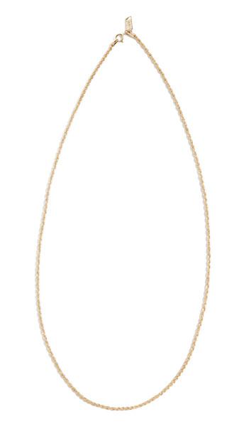 Loren Stewart 14k Rope Chain Necklace in gold / yellow