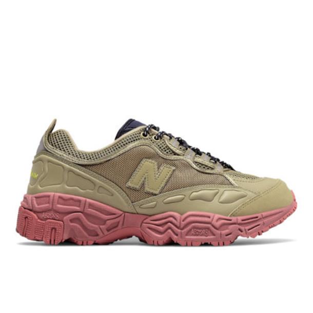 Herschel x New Balance 801 Men's Running Classics Shoes - Brown/Red/Blue (ML801HXC)