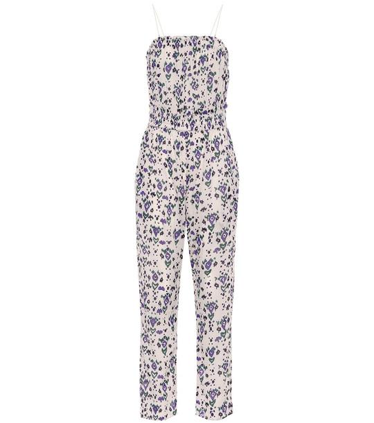 Isabel Marant, Étoile Timea floral cotton jumpsuit in beige