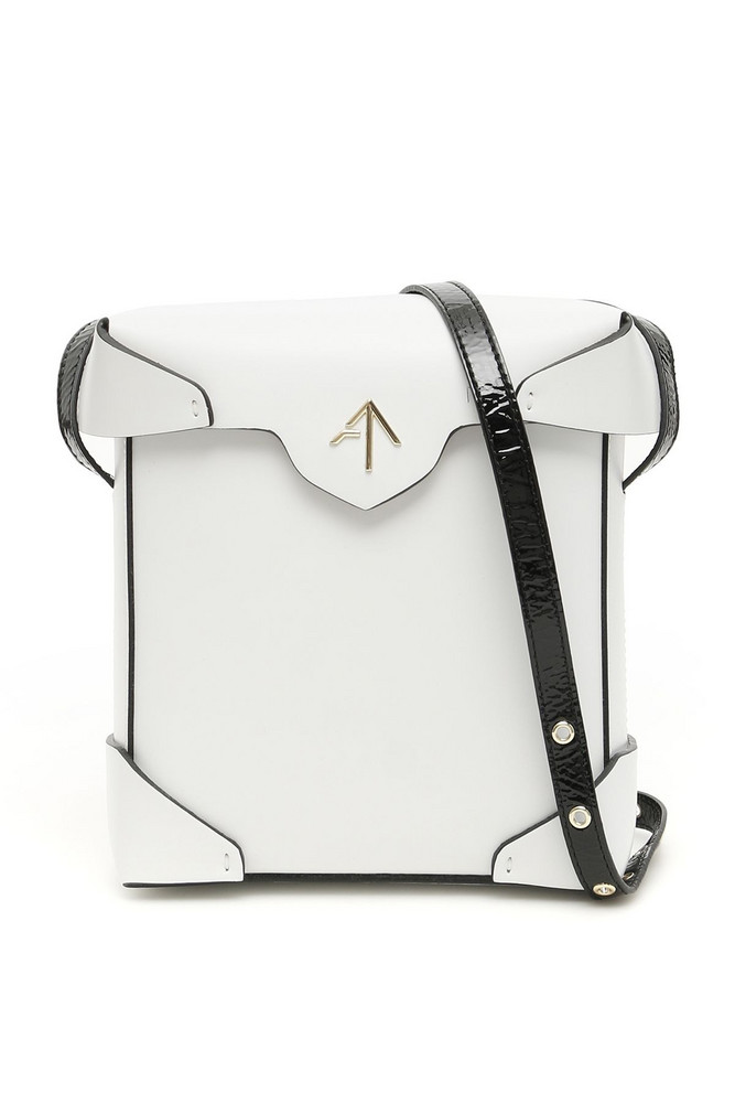 MANU Atelier Mini Pristine Bag in black / white