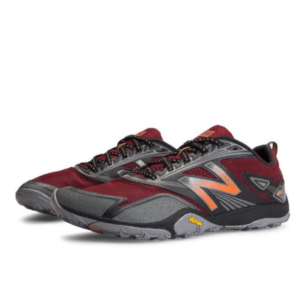 New Balance Minimus 80v2 Men's Trail Running Shoes - Red, Black, Grey (MO80RB2)