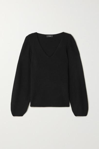 Theory - Cashmere Sweater - Black