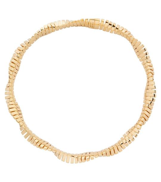 Bottega Veneta Silver necklace in gold