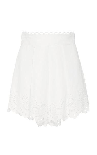 Zimmermann Bellitude Scallop Short Size: 0 in white