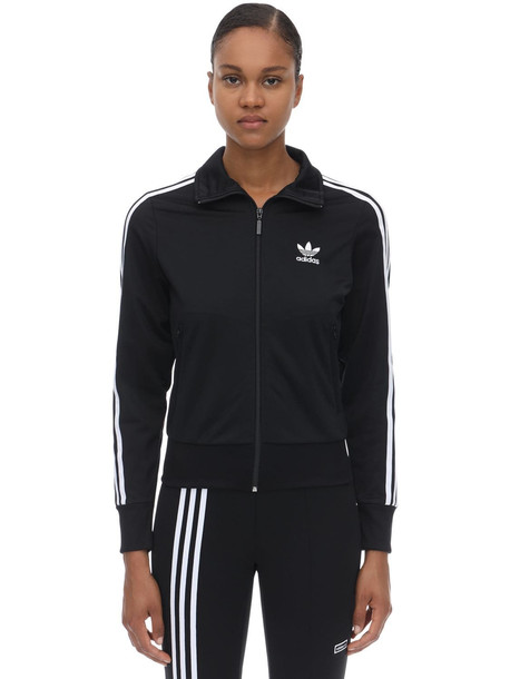 ADIDAS ORIGINALS Firebird Tt Jersey Sweatshirt in black