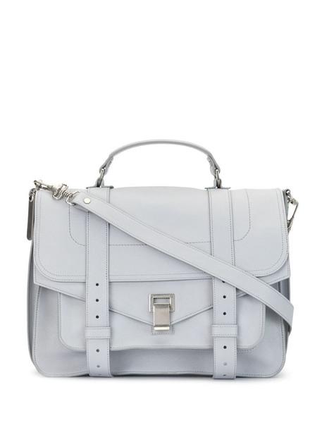 Proenza Schouler large PS1 crossbody bag in grey
