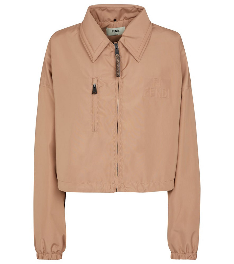 Fendi Nylon jacket in beige