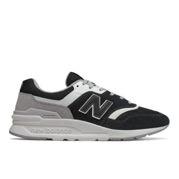 New Balance 997H Men's & Women's Classics Shoes - Black/Grey (CM997HDR)