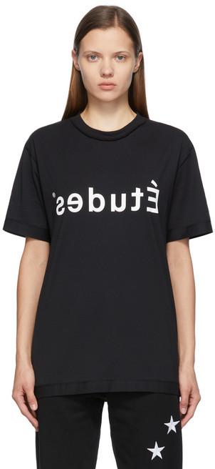 Études Études Black Wonder 'Études' Reversed T-Shirt