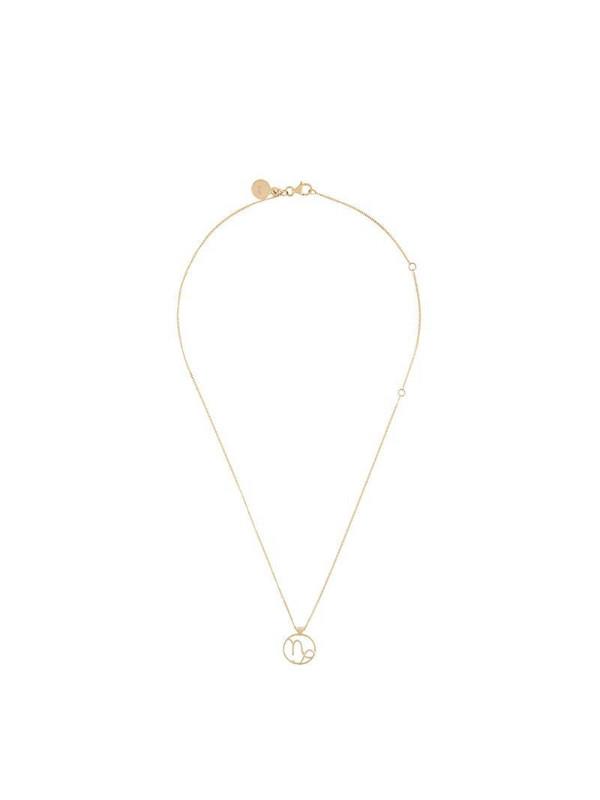 Karen Walker Capricorn necklace in metallic