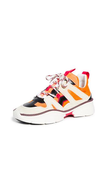 Isabel Marant Kindsay Sneakers in orange