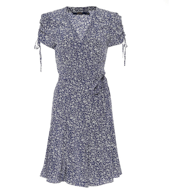 Polo Ralph Lauren Floral minidress in blue