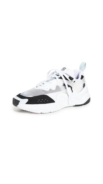 PUMA Rise Sneakers in black / white