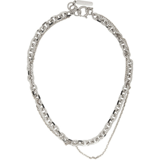 Justine Clenquet Silver and Gold Dana Necklace