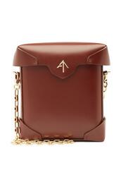 mini,bag,shoulder bag,leather,red