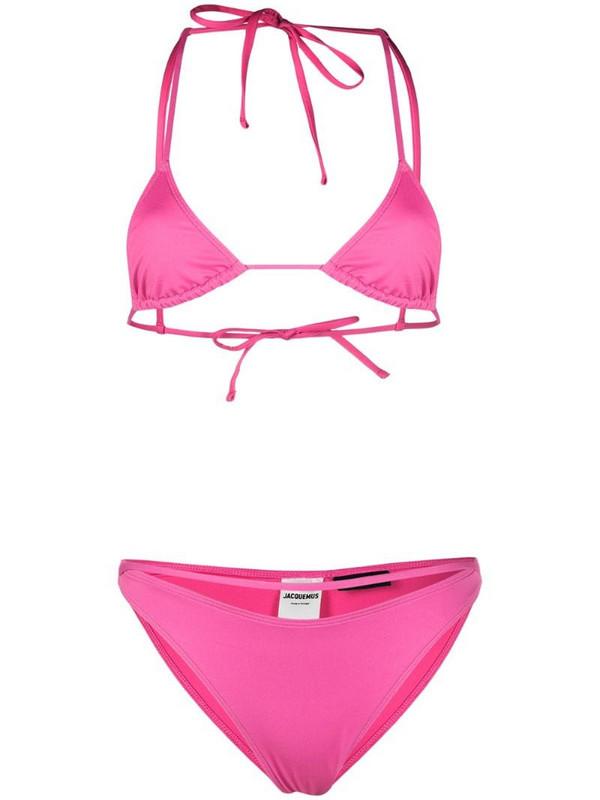 Jacquemus Le Maillot bikini set in pink