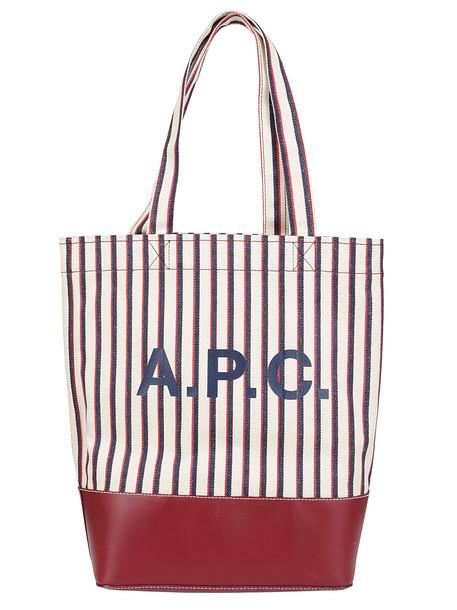 A.P.C. A.p.c. Logo Tote