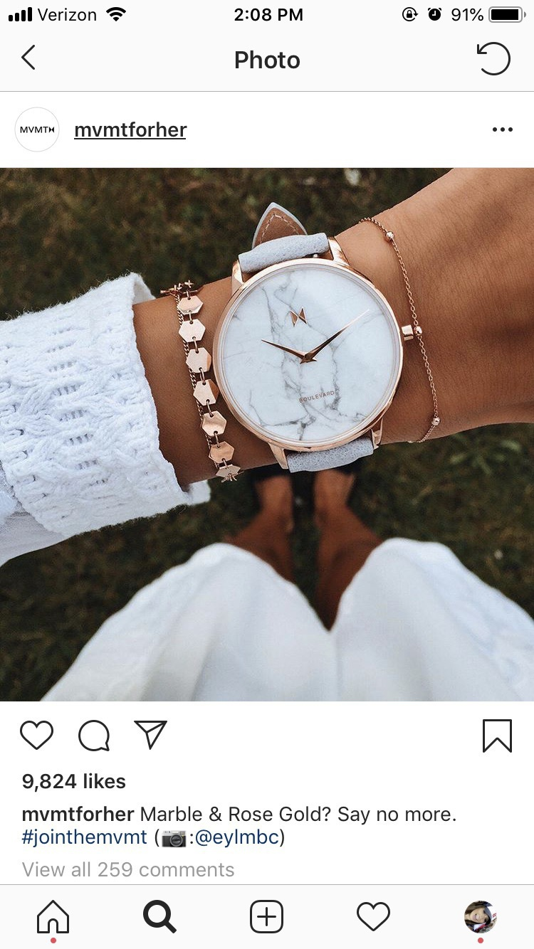 jewels bracelets rose gold mvmt
