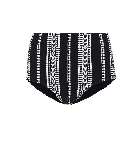 Lemlem Luchia high-rise bikini bottoms in black