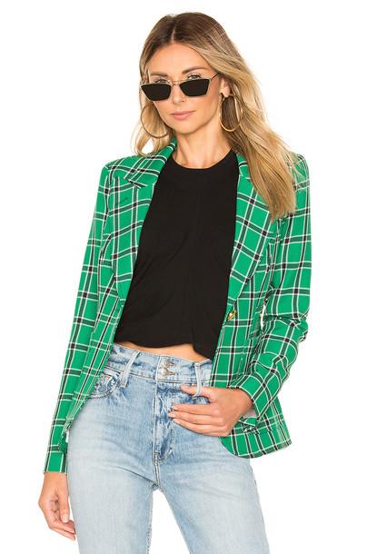 Smythe Patch Pocket Duchess Blazer in green