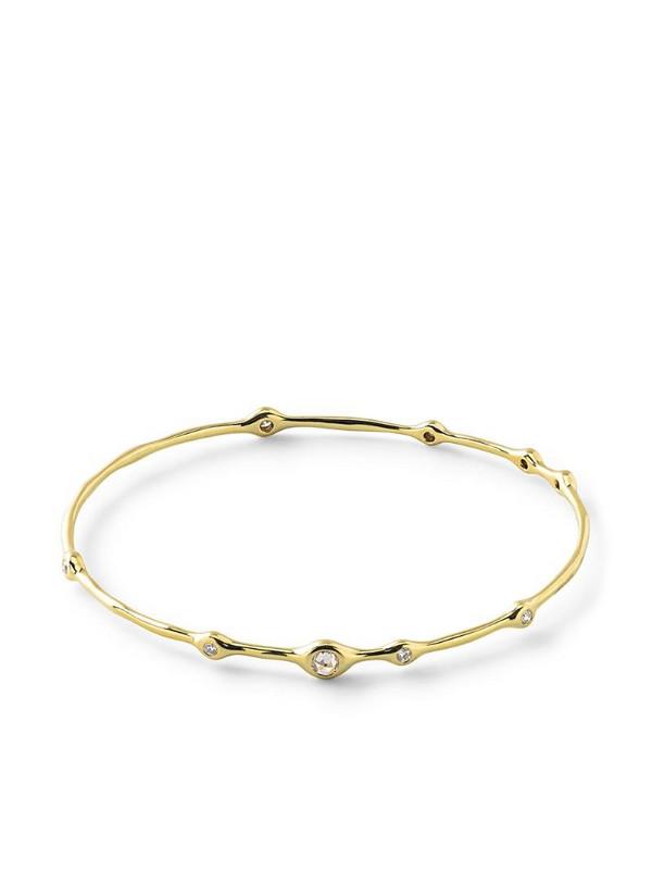IPPOLITA 18kt yellow gold Stardust Superstar 9 diamond bangle