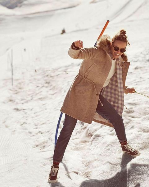 coat shoes sunglasses top