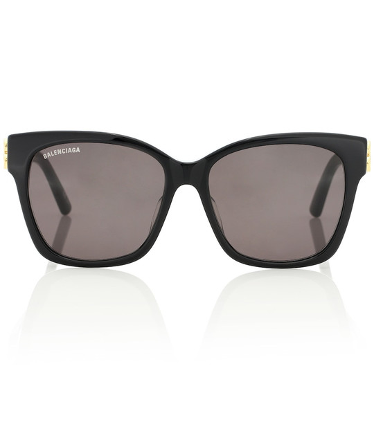 Balenciaga BB acetate sunglasses in black