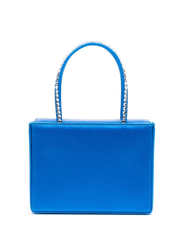Amina Muaddi mini Super Gilda bag in blue
