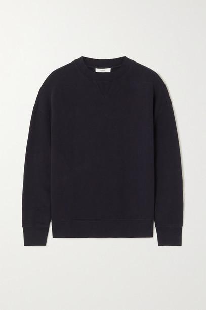 VINCE - Cotton-jersey Sweatshirt - Black