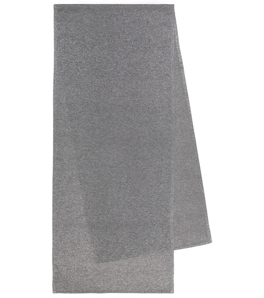 Joseph Metallic scarf in silver