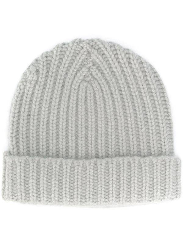 Warm-Me Alex cashmere beanie hat in grey