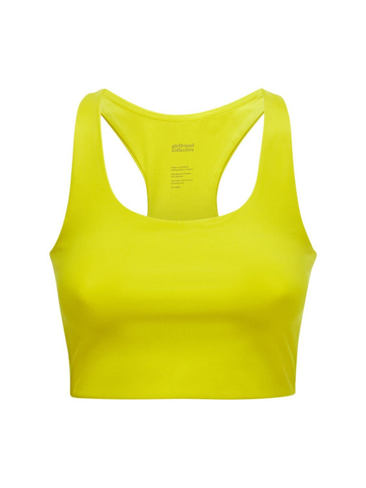 GIRLFRIEND COLLECTIVE Paloma Bra in yellow