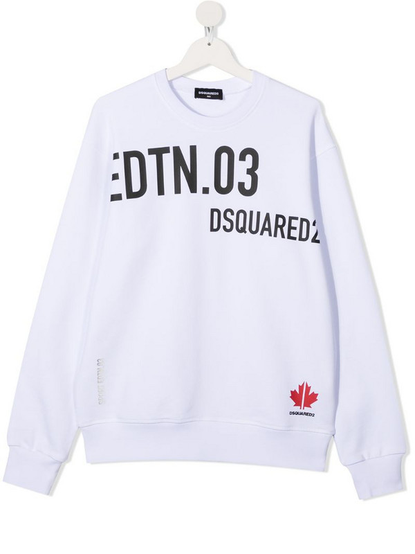 Dsquared2 Kids TEEN slogan-print sweatshirt