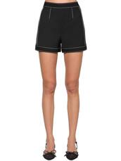 shorts,wool,black