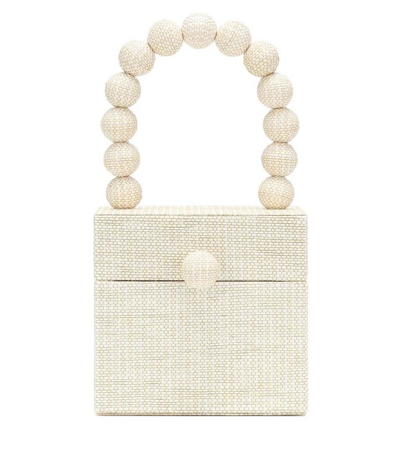 Cult Gaia Eos Box tote in beige