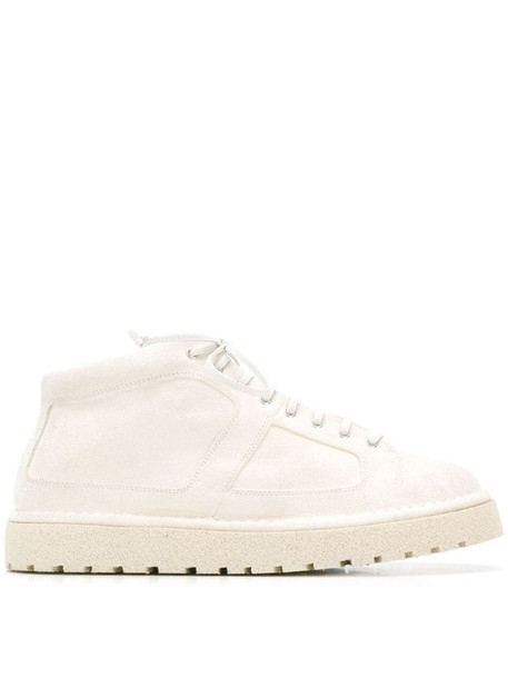 Marsèll thick sole sneakers in white