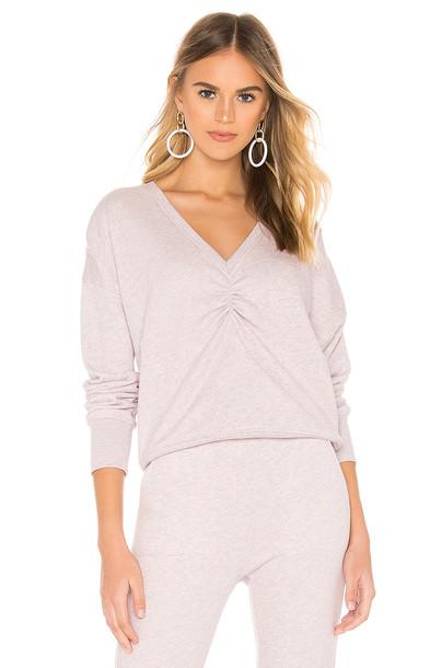 Joie Warda Sweatshirt in lavender