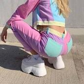 pants,pastel,colorful,cute,kawaii,jeans,denim