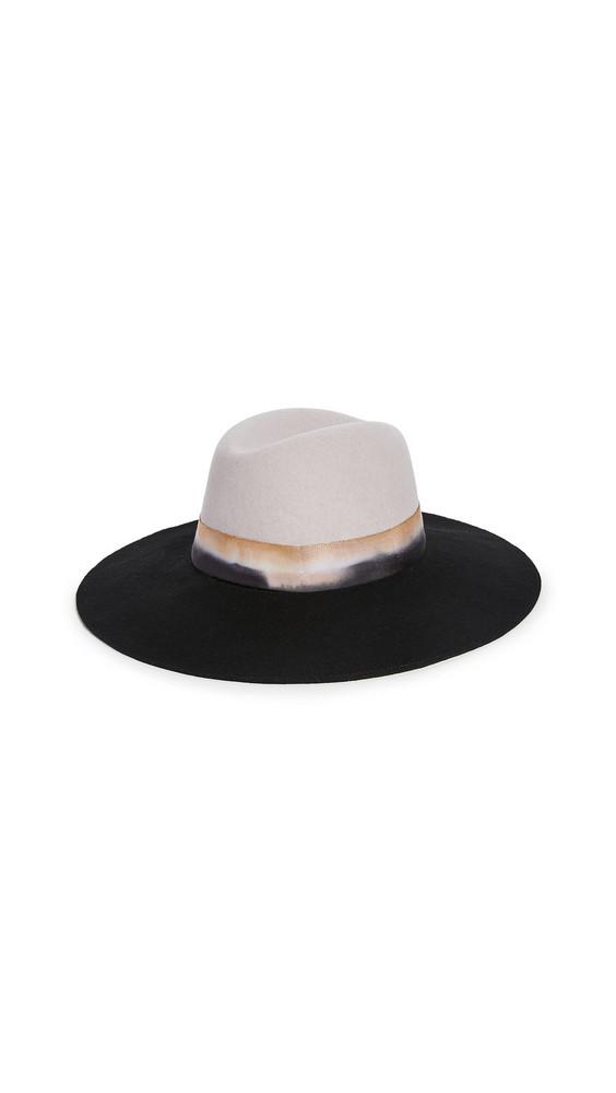 Freya Wisteria Hat in navy / grey