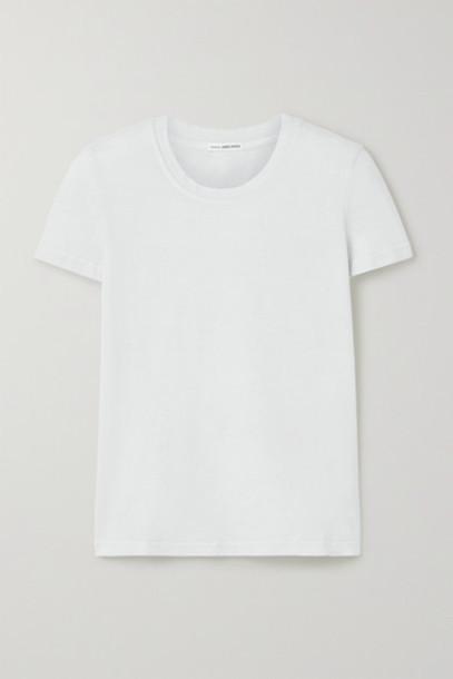 James Perse - Boy Stretch-cotton Jersey T-shirt - Light gray
