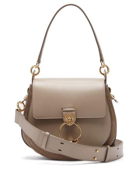 Chloé Chloé - Tess Small Leather Cross Body Bag - Womens - Grey