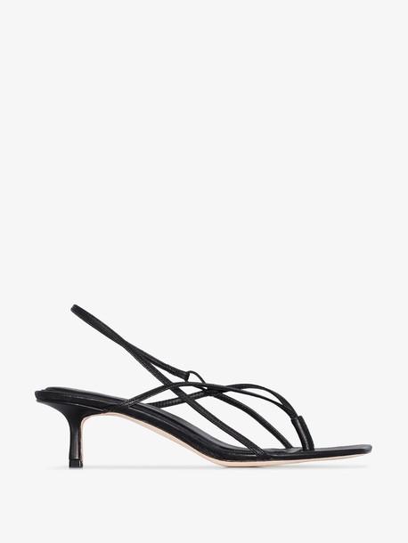 Studio Amelia black 2.6 50 leather sandal