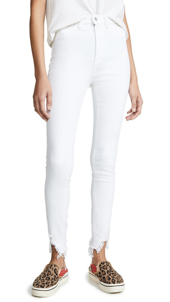 DL DL1961 Chrissy Ultra High Rise Skinny Jeans